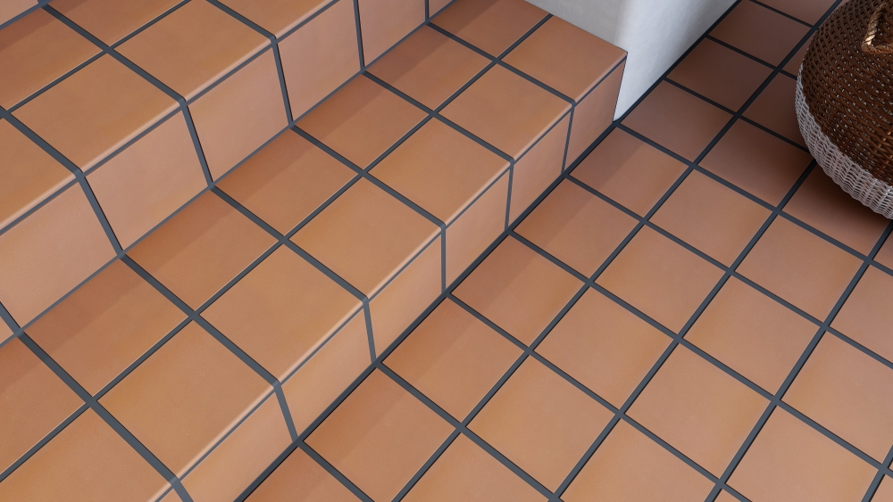Red Quarry Rounded Edge | Tile Mountain