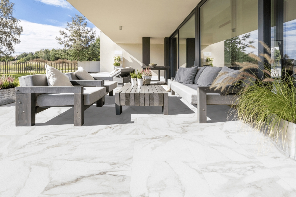 Marble Stone Calacatta Outdoor Slab | Tile Mountain