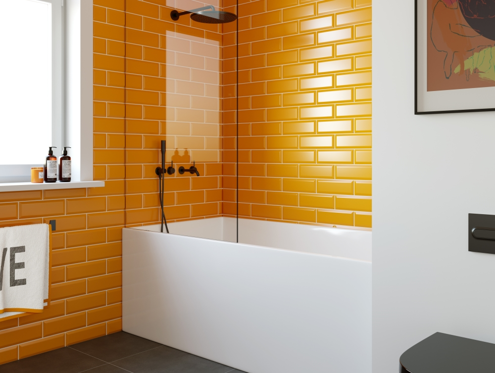 Metro Orange | Tile Mountain