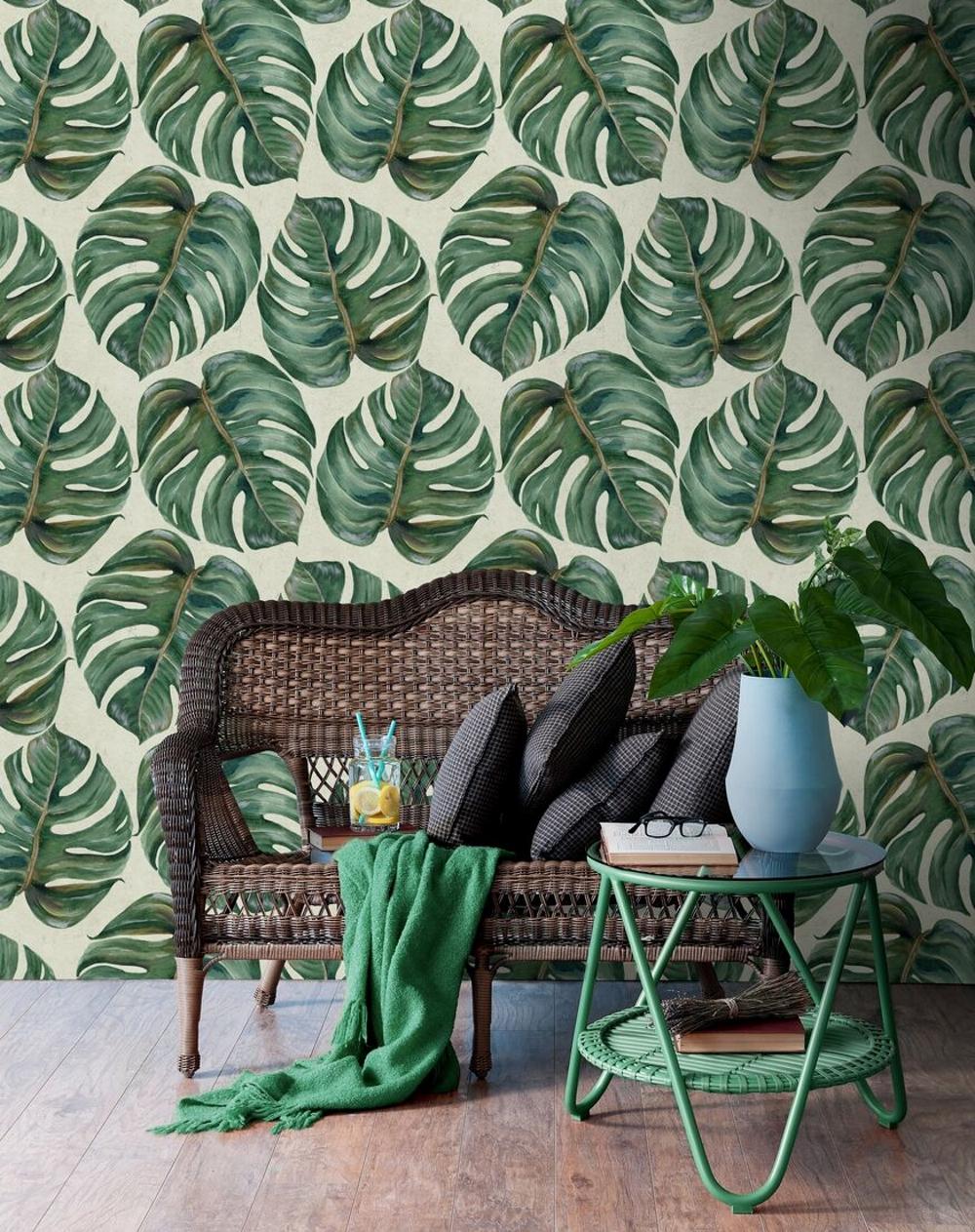 Tropical Leaf Wallpaper| Mind The Gap