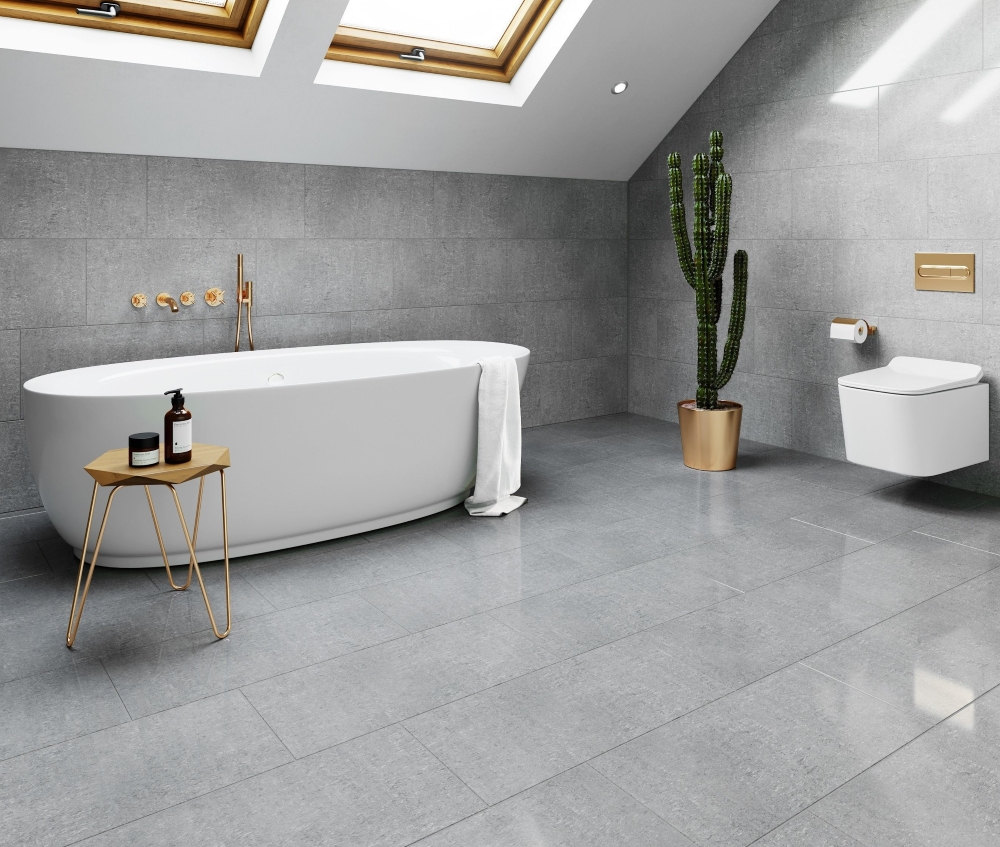 Royal Dark Grey Polished Porcelain | Tile Mountain