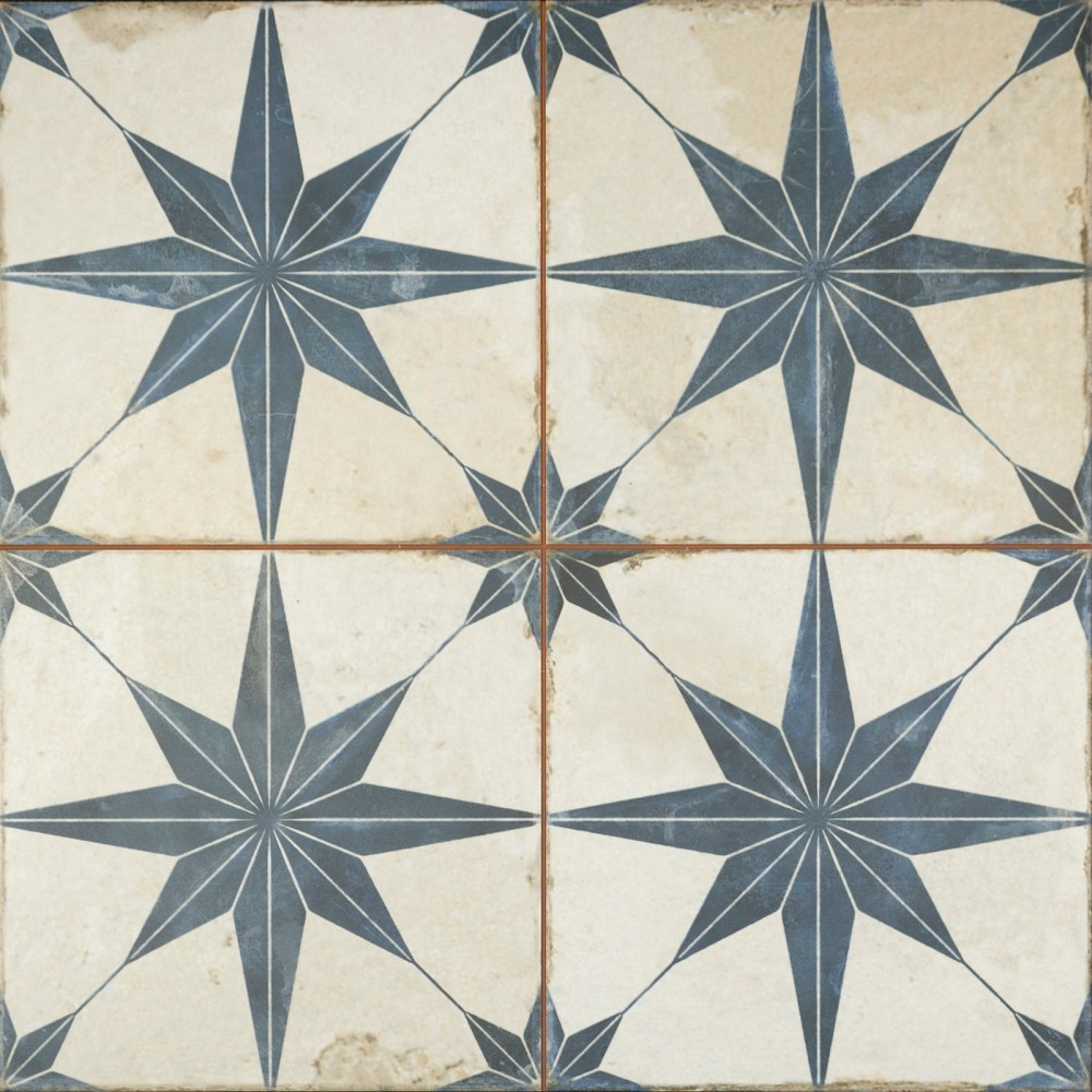 Metropolis Star Indigo | Tile Mountain