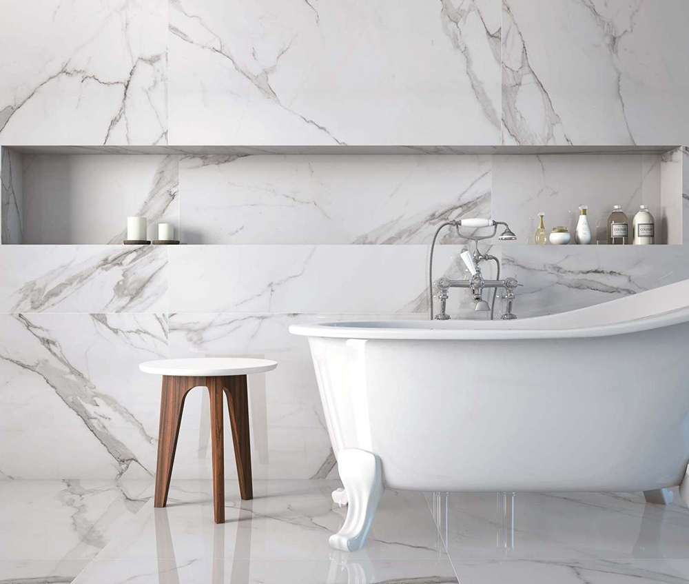 Place White Marble Effect | Tile Mountain