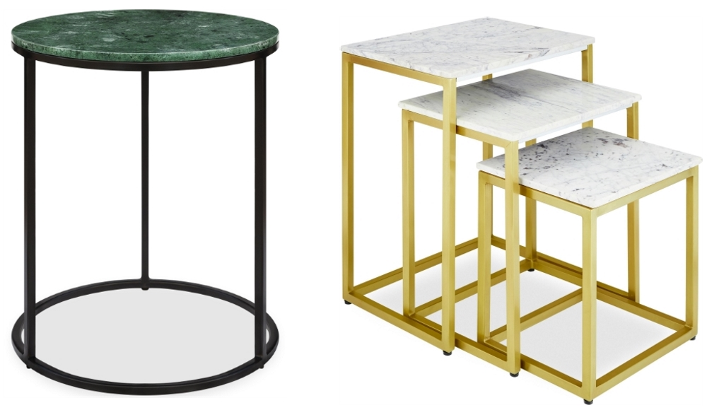 Madison Side Table and Mercer Nesting Tables | Cult Furniture