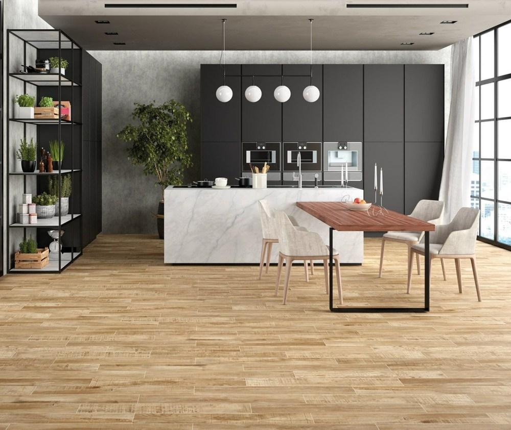 Mikeno Honey Wood Effect   Tile Mountain