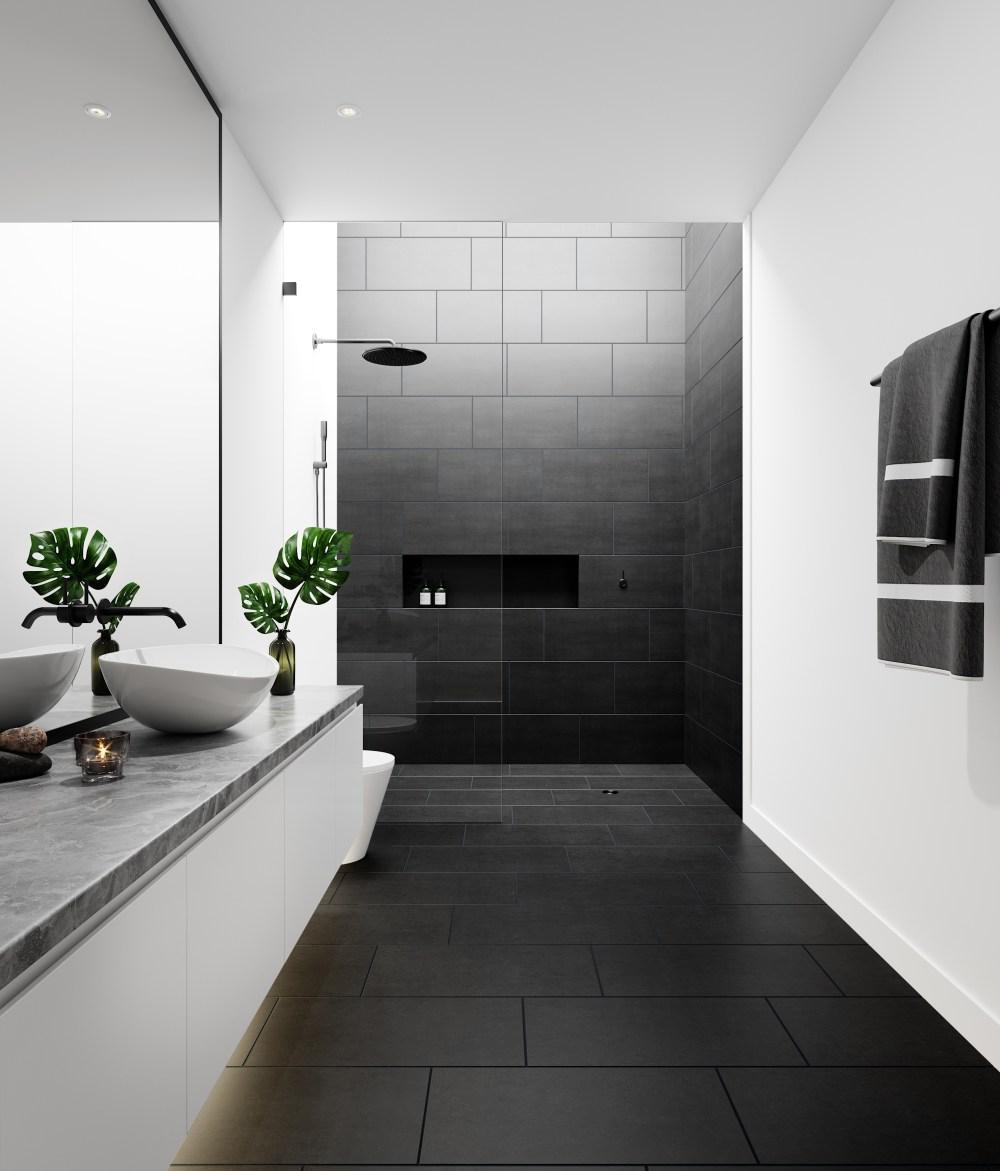 Lounge Black Matt Porcelain | Tile Mountain