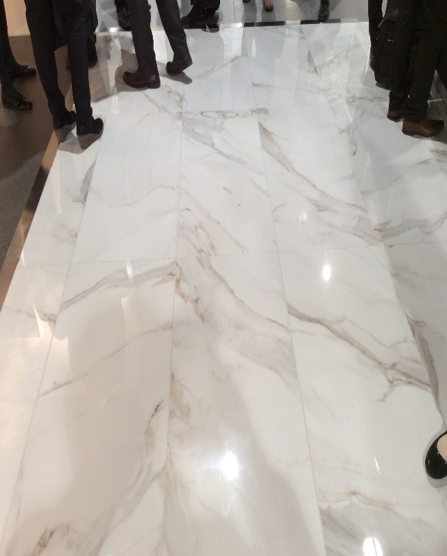 marble and wood look tile top tile