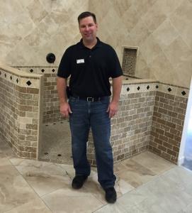 gary tuhro focuses on tile installation