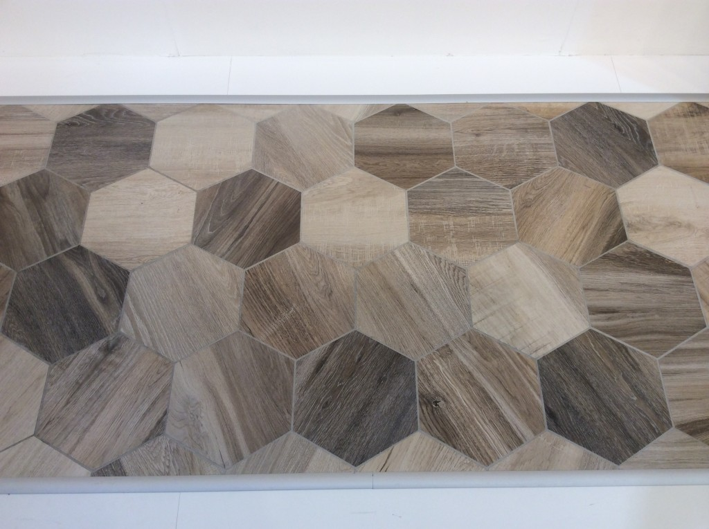 hexagon tile trends from coverings