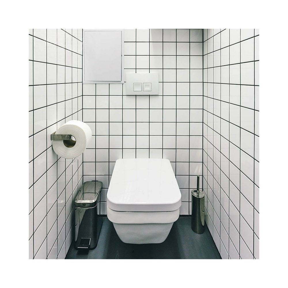 Recer White Wall 9 8cm X 9 8cm Wall Tile Per Box