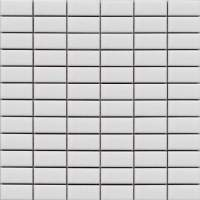 White Rectangle Mosaic Tiles