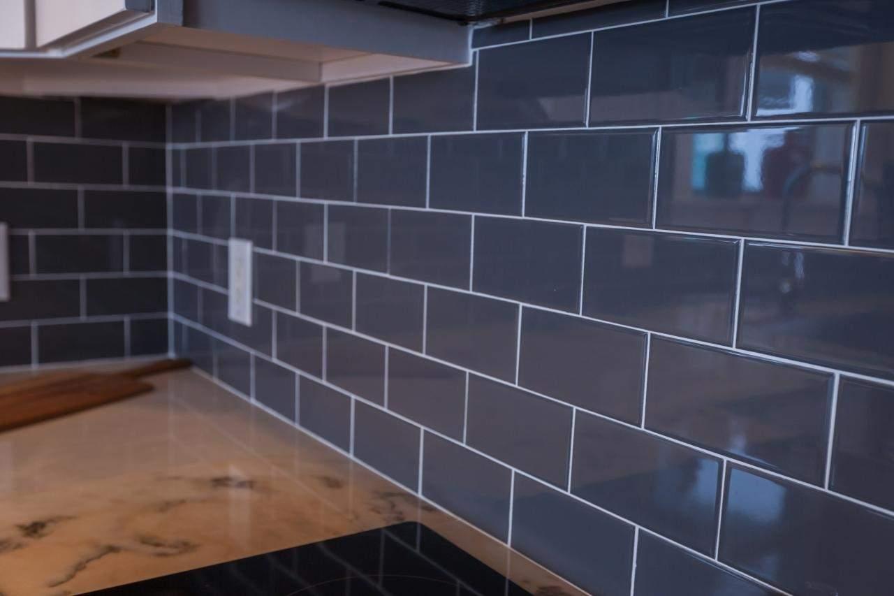 Dark Grey Subway Tiles