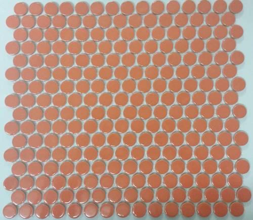 penny porcelain kitchen  bathroom wall splashback mosaic