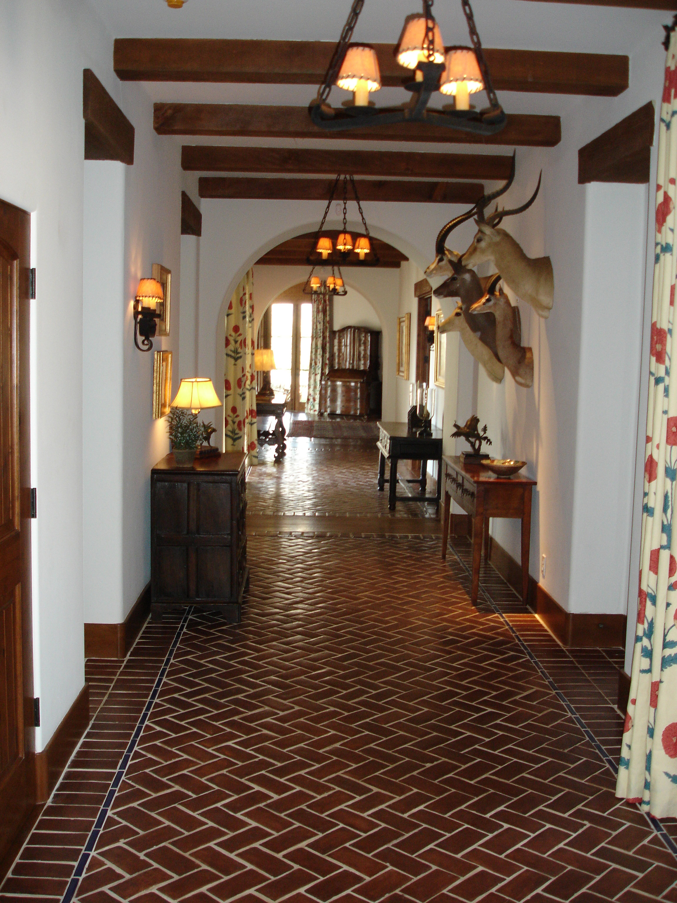 Saltillo Tiles  Before and After Images