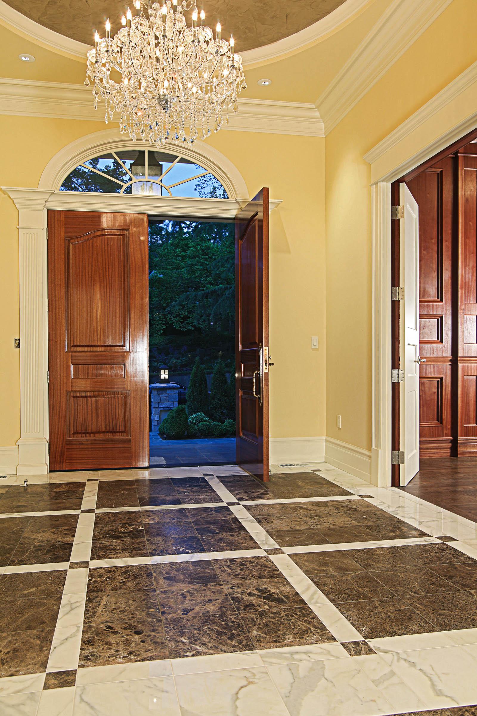 Entry Floor Photos Gallery  Seattle Tile Contractor  IRC