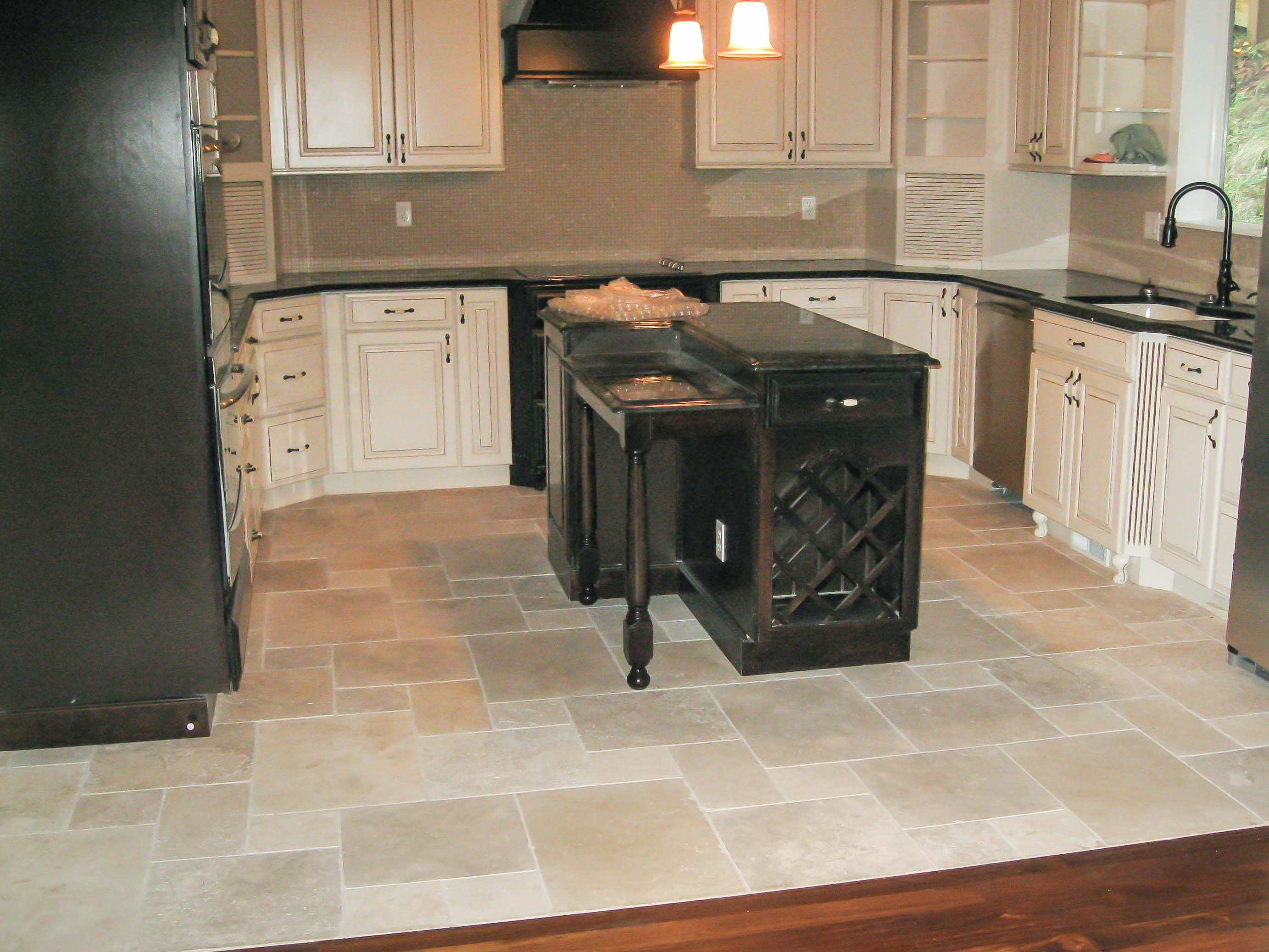 Kitchen Floors Gallery  Seattle Tile Contractor  IRC