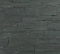 Stunning variagated split face slate 3D mosaic tiles.