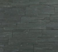 Stunning variagated split face slate 3D mosaic tiles.