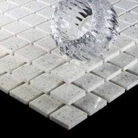 Diamond White Quartz Mosaics - Mosaic Tile Mats ...