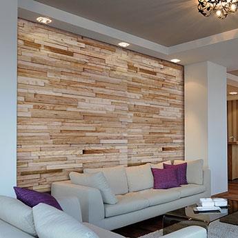 Wood Cladding Natural Feature Walls Tilesporcelain
