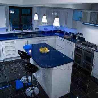 metallic kitchen wall tiles island light pendants quartz worktops | sparkly counter tilesporcelain