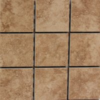 Travertine Imitation Mocha A 2x2 - Tile and Stone Source