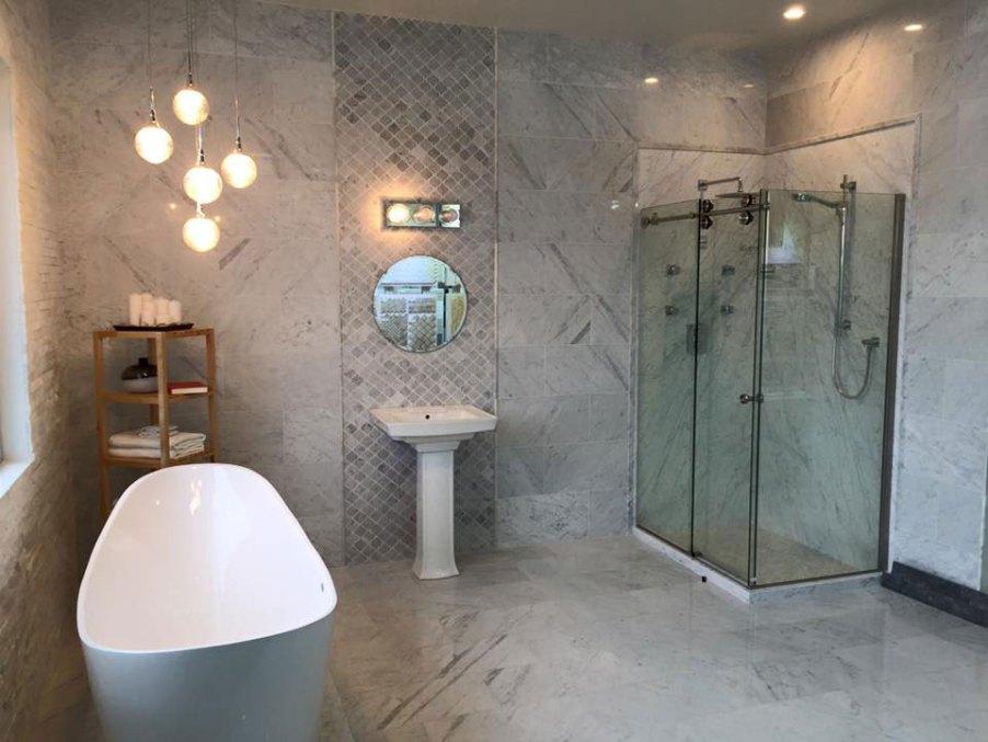 Edmonton Marble Bathroom install