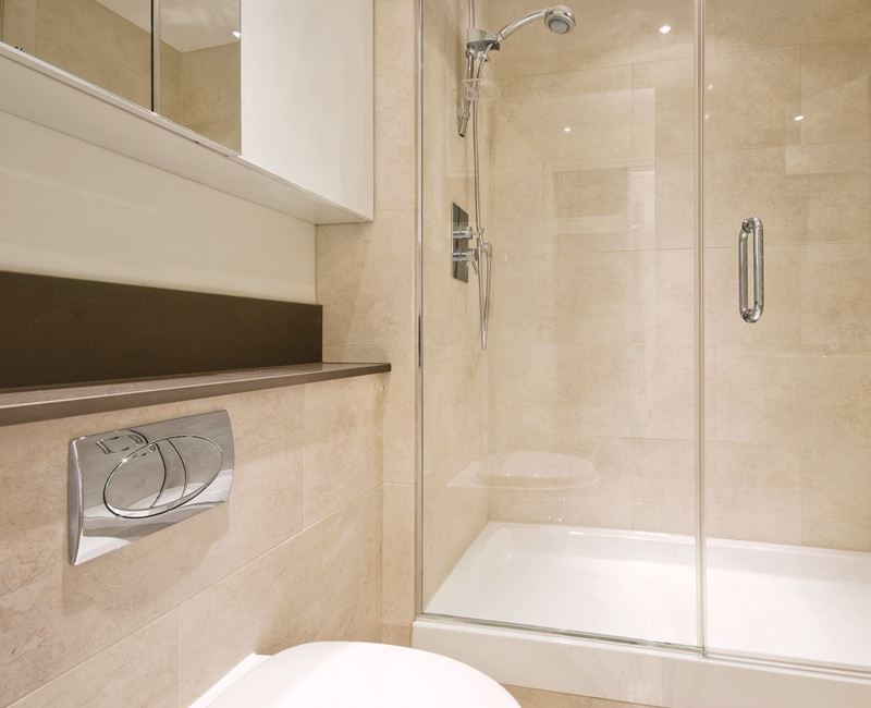 Royal Crema Marble installed in a bathroom