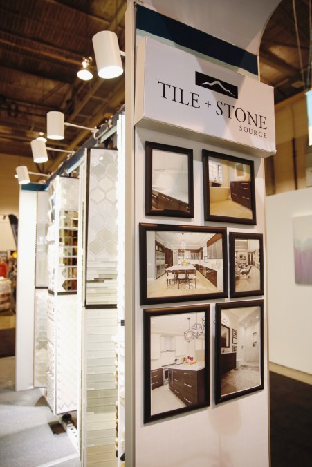 Tile and Stone Source new home show booth