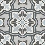 Form Baroque 8x8 Tide Deco Matte