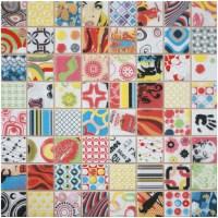 Retro & Pop Art, Andy Warhol Style Mosaics / Dune Andy