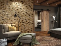 Living Room Feature Wall Tile