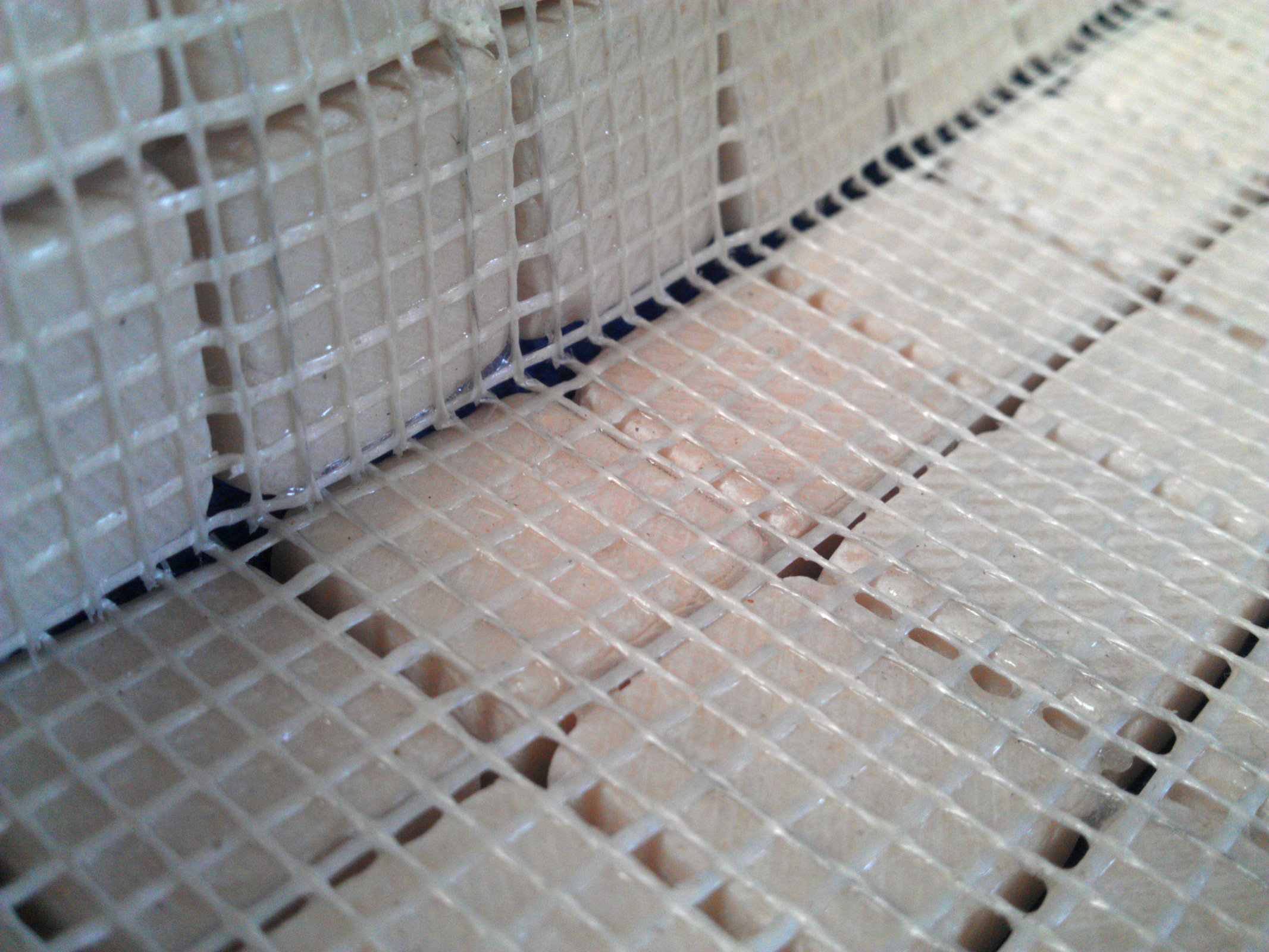 mosaics what is a mesh backing