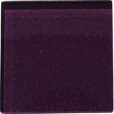 Deep purple Glass Tile