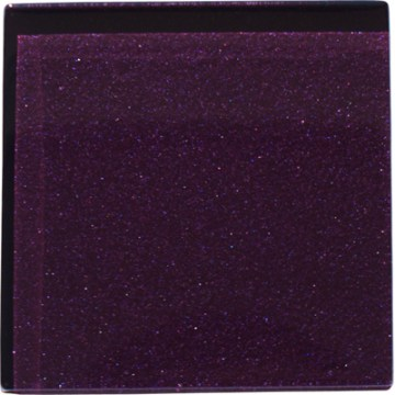 Deep purple Glass Tile