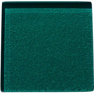 Green glass kitchen tile