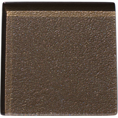 Chocolat brown glass tile
