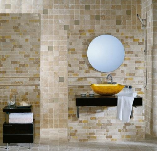 Mosaico Travertino Brick-6358