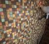 Mix of metal tiles