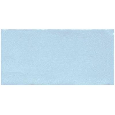 Sky blue crackled surface