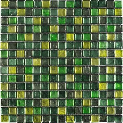 Green Glass Mosaic