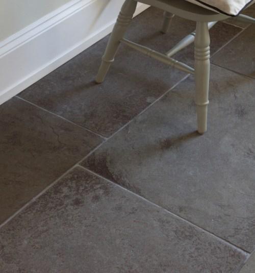 Huntingdon limestone floor grey