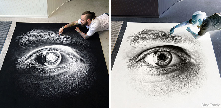 Drawings of salt reveal their true colors when reversed