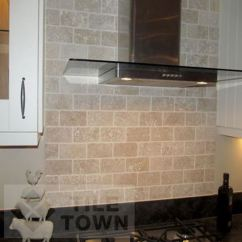 Wall Tile Kitchen Refacing Cost Trav White 7 5x15 Picture Of