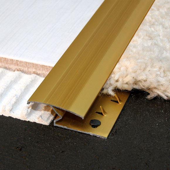 tga 909 z bar carpet to tile strip