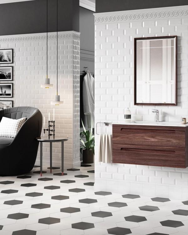 bathe in beautiful bathroom tile