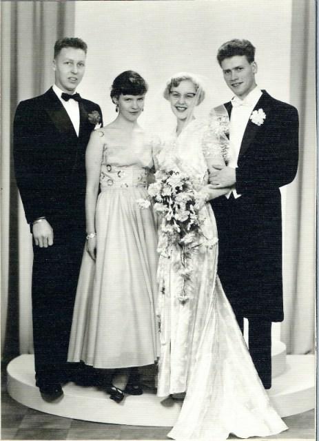 Sigurd, Anny, mor Anny og far Roar