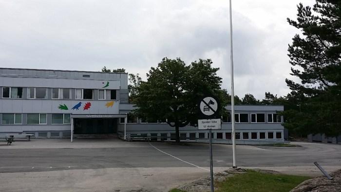 Barneskolen som min mann gikk på