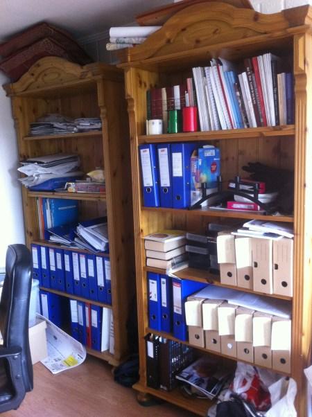 Resten av Lailas kontor