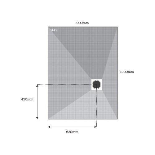 small resolution of dukkaboard corner drain shower tray 5147